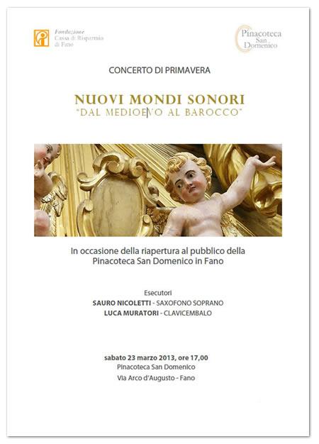 concerto pinacoteca san domenico