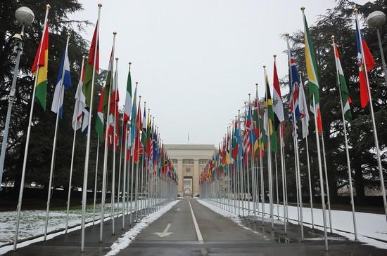 ginevra il palazzo delle nazioni unite
