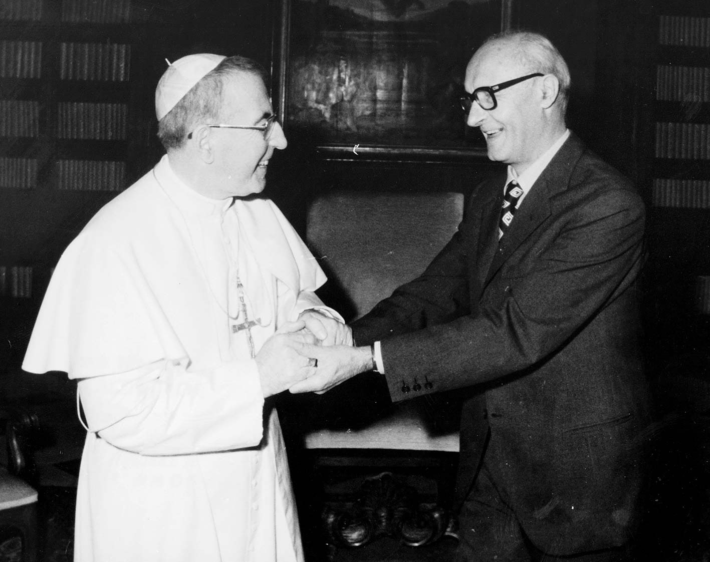 Giovanni Paolo I e Valerio Volpini