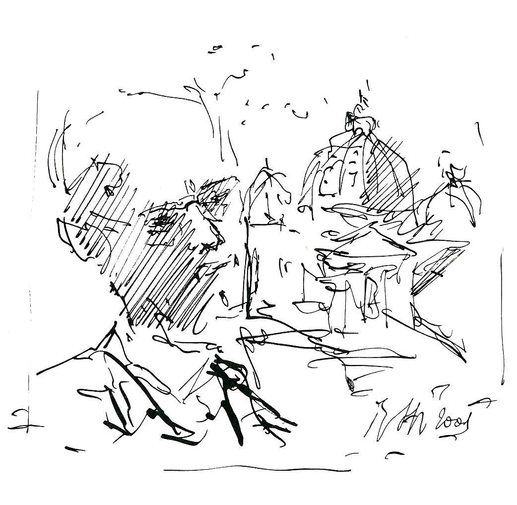 Valerio Volpini visto da Raimondo Rossi
