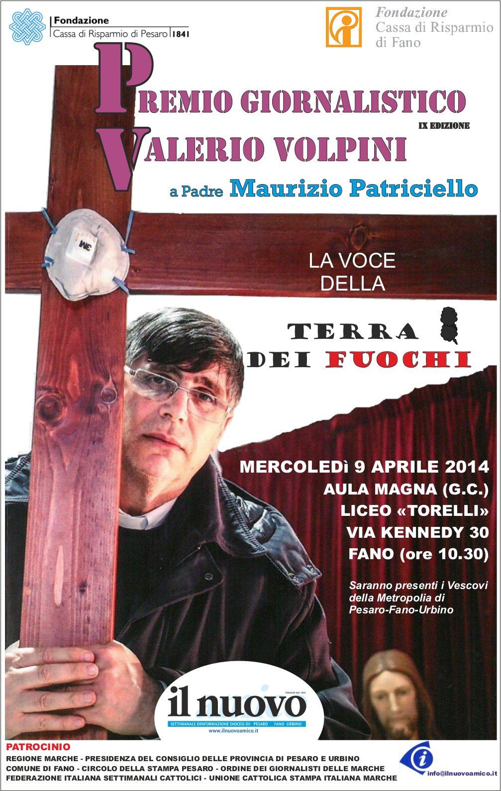 Premio Giornalistico Valerio Volpini