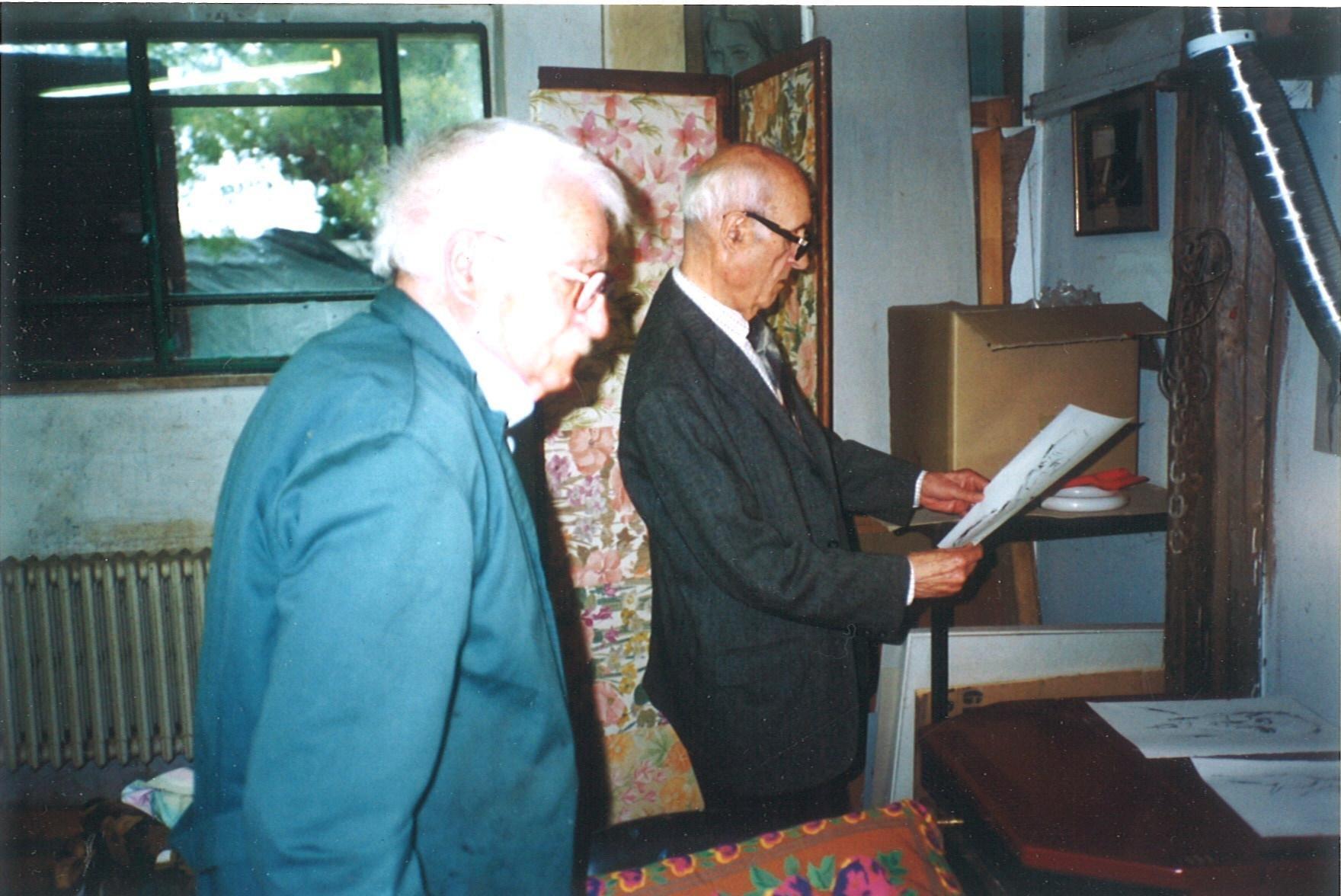 Arnoldo Ciarrocchi e Valerio Volpini
