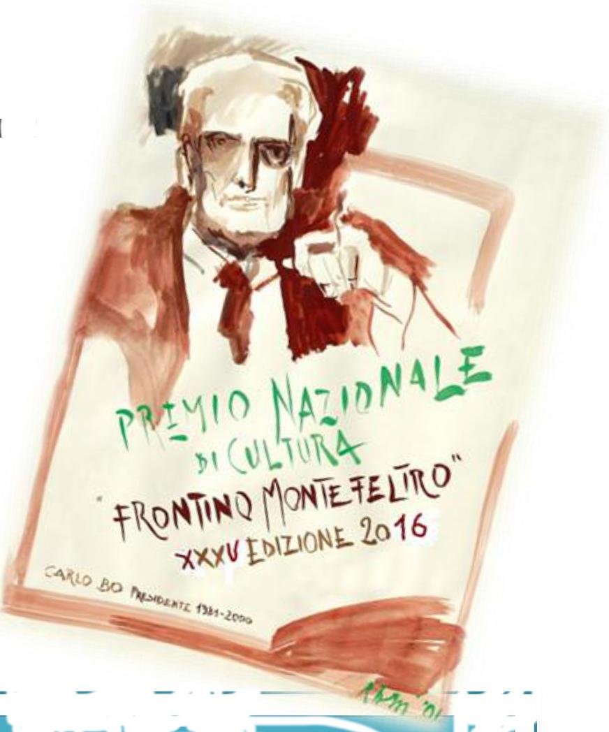 Carlo Bo - Premio Frontino Montefeltro 2016