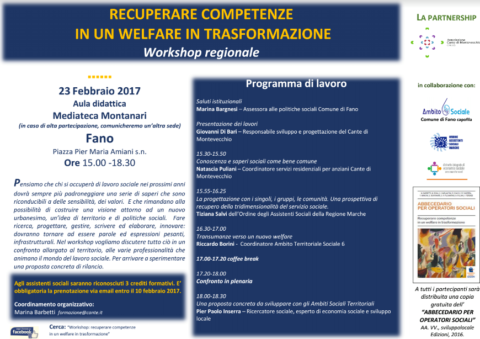 Cante di Montevecchio - Workshop 23-2-2017