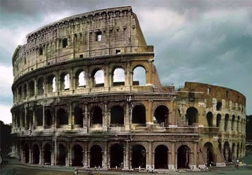 Colosseo Roma Via Crucis