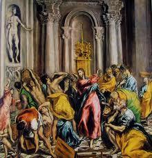 El Greco Cacciata Mercanti dal Tempio