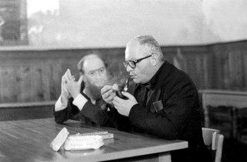 Italo Mancini e Sergio Quinzio