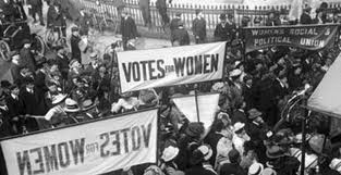 suffragette votes for women