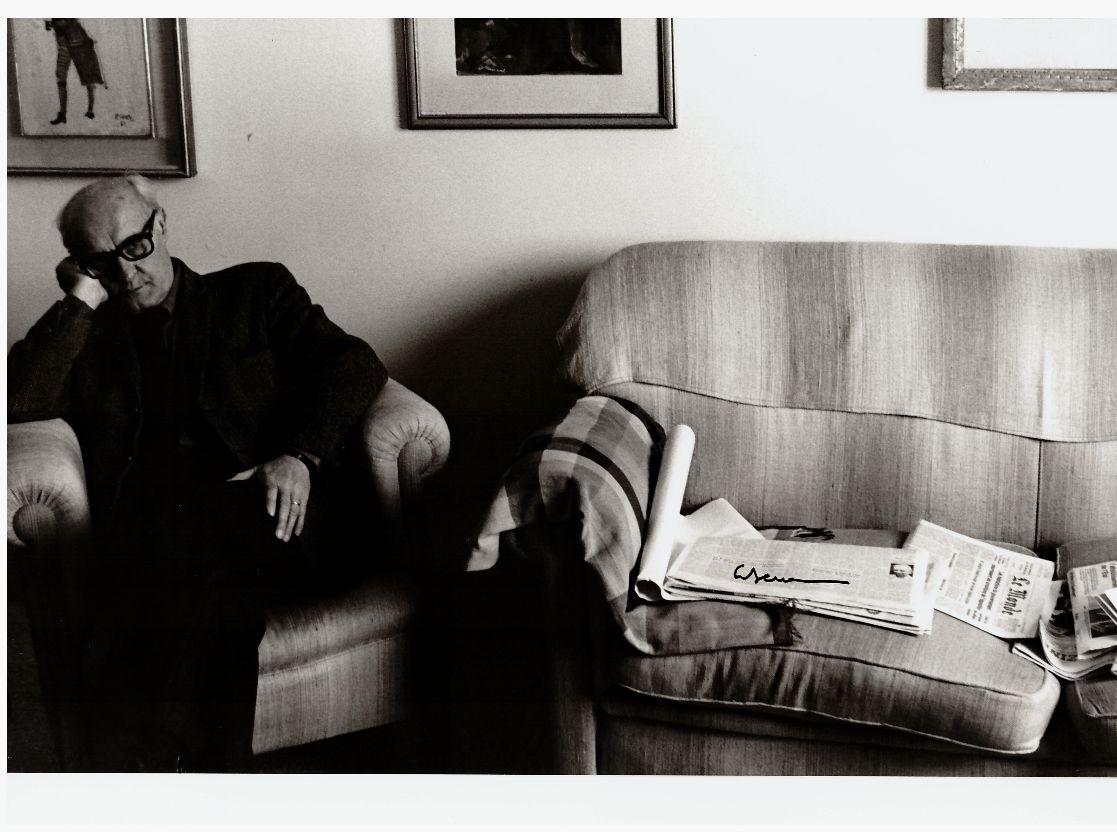 Valerio Volpini inizi anni 80 Città del Vaticano foto di Tano Citeroni