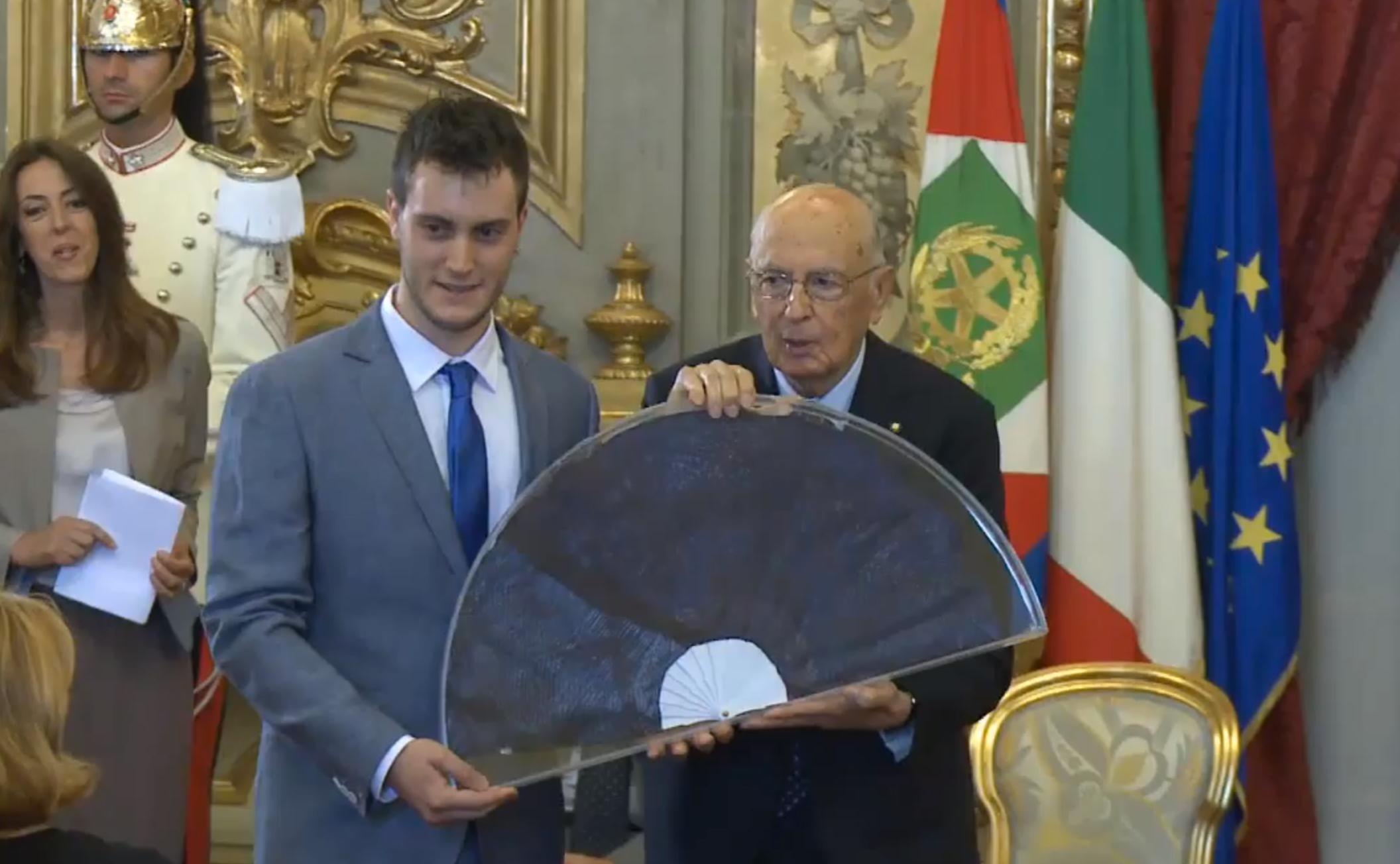 Cerimonia del Ventaglio Presidente Napolitano 2013
