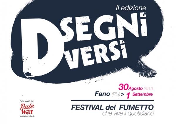 Festival del Fumetto Disegni Diversi II edizione