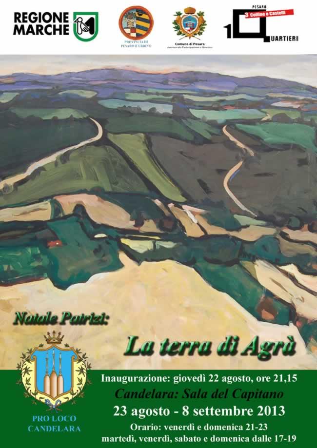 """Candelara: inaugurazione mostra """"La terra di Agrà"""""""