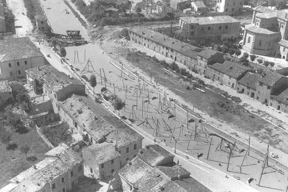 II guerra mondiale navi affondate a Fano