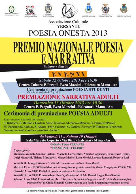 Premio Poesia Onesta Manifesto