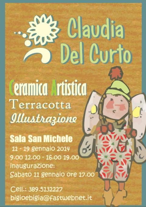 Mostra ceramica artistica di Claudia Del Curto