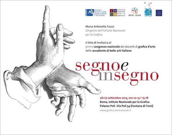 Roma I Congresso Nazionale dei Docenti di Grafica dArte