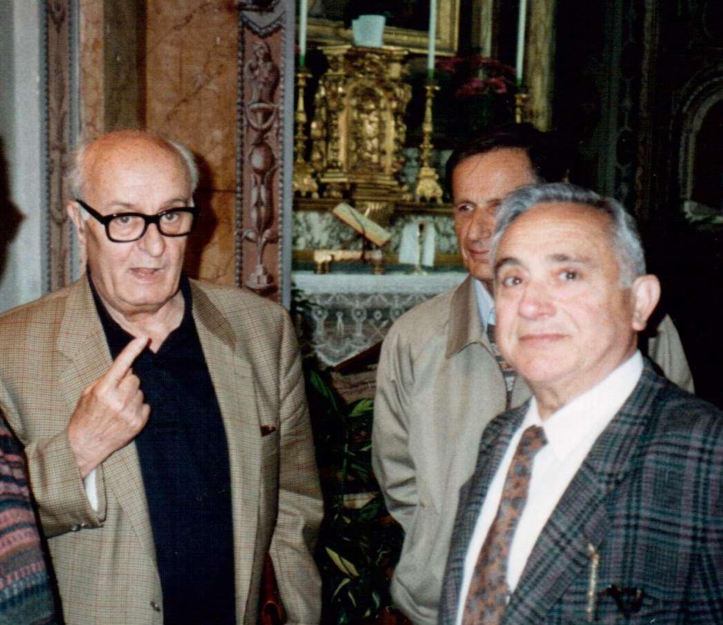 Valerio Volpini con Egidio Mengacci