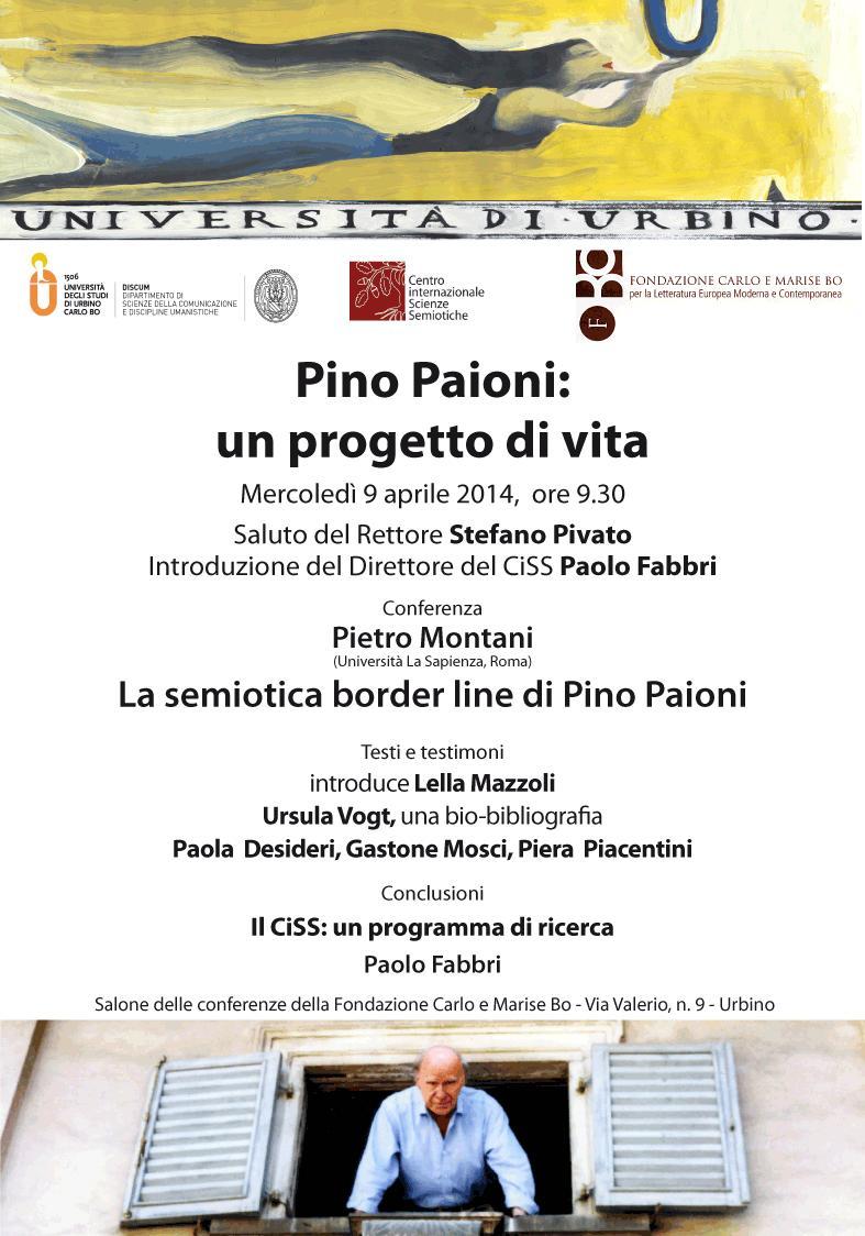 Pino Paioni - Un progetto di vita