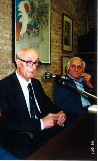 Valerio Volpini e Dino Tiberi