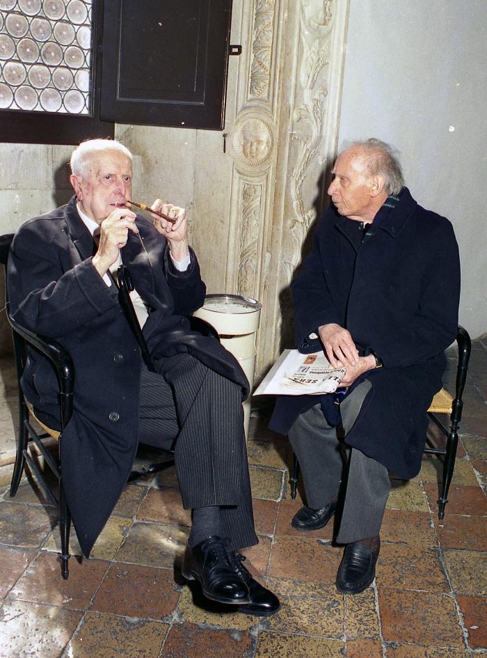 Carlo Bo e Mario Luzi