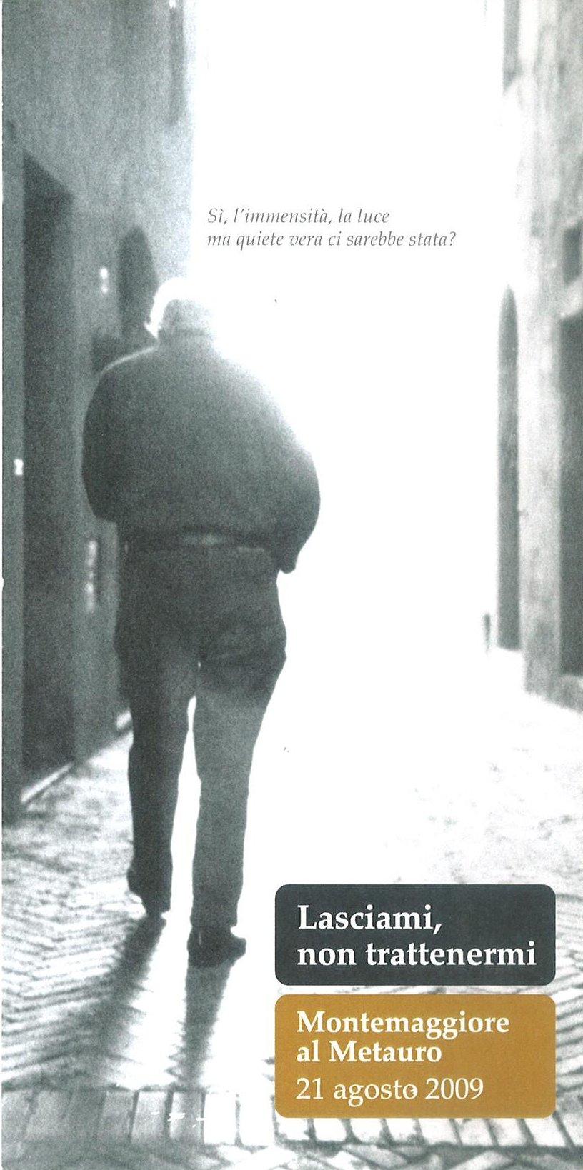 Mario Luzi - Montemaggiore al Metauro