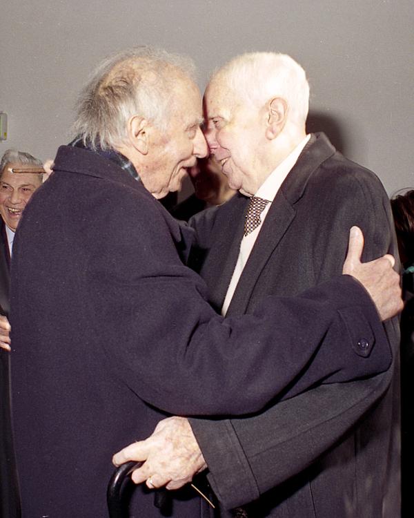 Mario Luzi e Carlo Bo