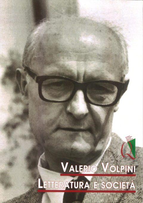Valerio Volpini Letteratura e società