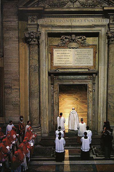Roma 8 dicembre 2015 Giubileo della Redenzione - Apertura della Porta Santa