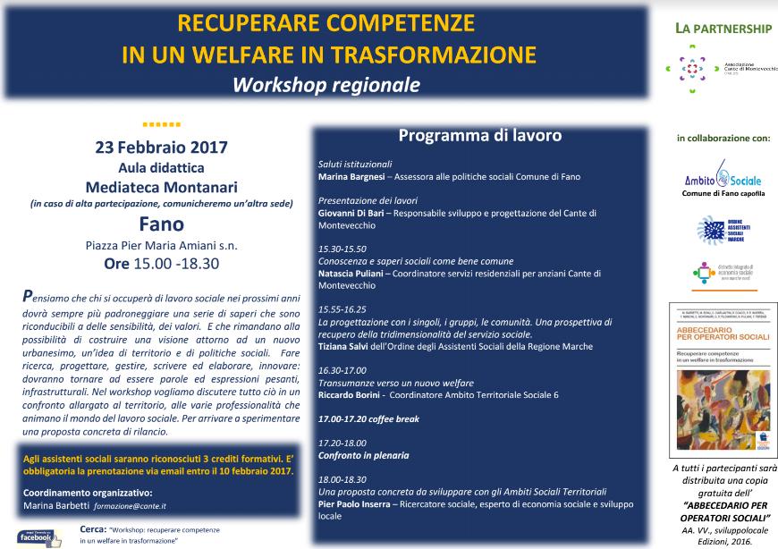 Cante di Montevecchio - Workshop 23-2-2017