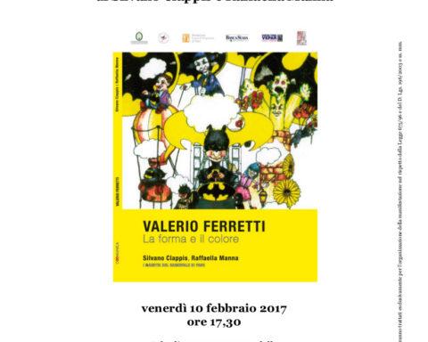 Presentazione della Monografia del Carnevale su Valerio Ferretti