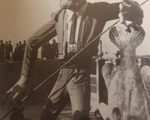 Melchiorre Fucci - Totò e il pesce 1949