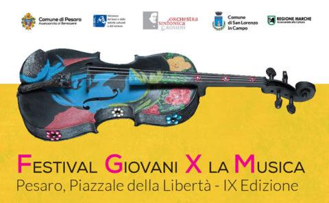 Festival Giovani per la Musica: nona edizione 2018