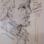 In occasione dei 70 anni di Gianni Giannini, il 14 luglio 2006, grande cena all'aperto a Pennabilli nel giarfino dei frutti dimenticati e ritratto di Raimondo Rossi.